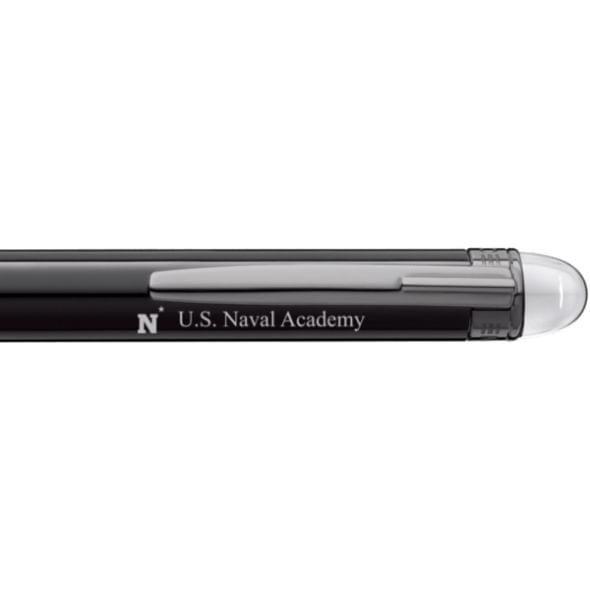 US Naval Academy Montblanc StarWalker Ballpoint Pen in Ruthenium - Image 2