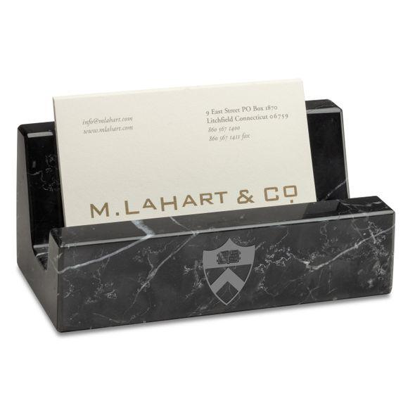 Princeton Marble Business Card Holder