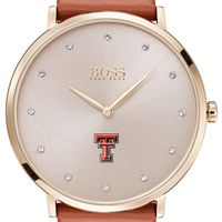 Texas Tech Women's BOSS Champagne with Leather from M.LaHart