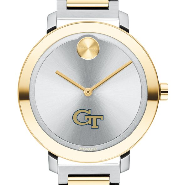 Georgia Tech Women's Movado Two-Tone Bold 34