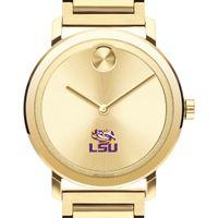 LSU Men's Movado Bold Gold with Bracelet