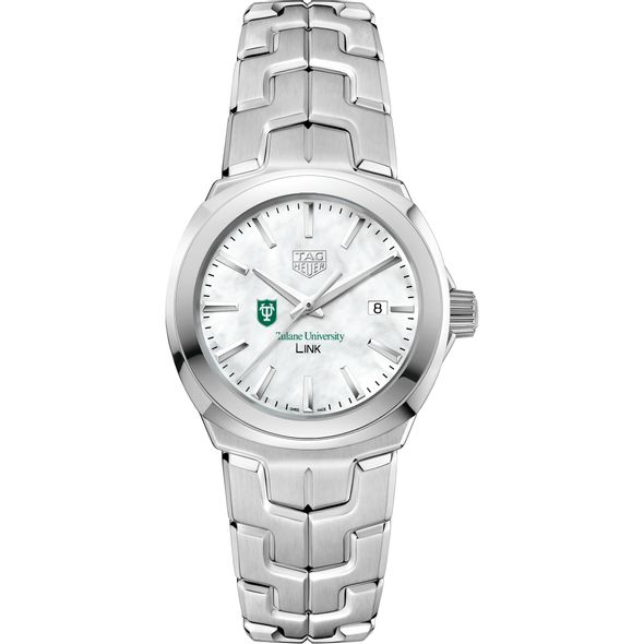 Tulane University TAG Heuer LINK for Women - Image 2