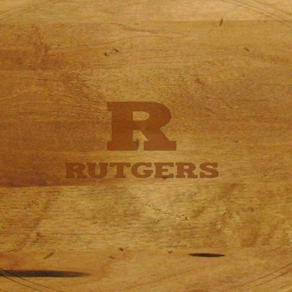 Rutgers University Round Bread Server - Image 2