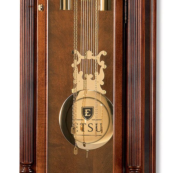East Tennessee State University Howard Miller Grandfather Clock - Image 2