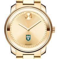 Tulane University Men's Movado Gold Bold