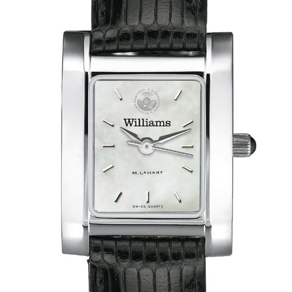 Williams College Women's MOP Steel Quad with leather strap