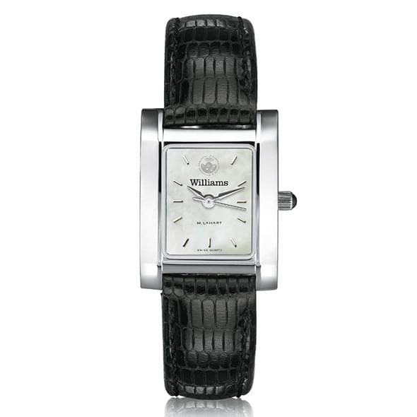 Williams College Women's MOP Steel Quad with leather strap - Image 2