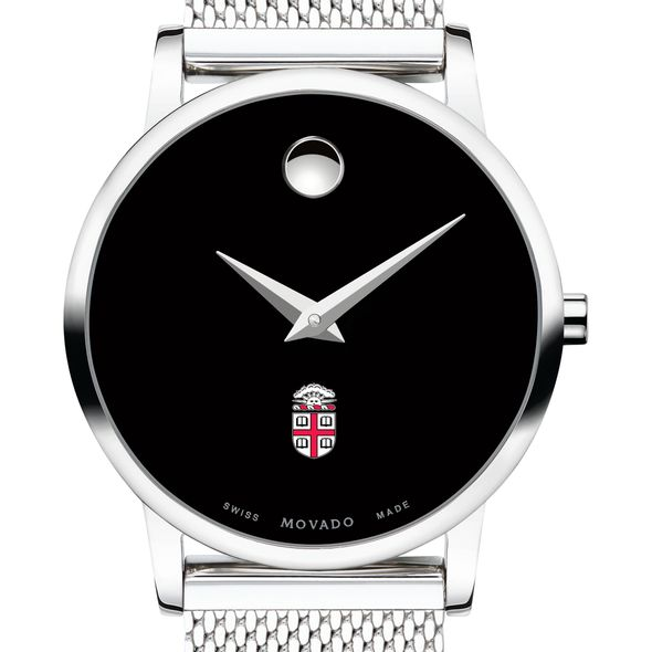 Brown University Women's Movado Museum with Mesh Bracelet