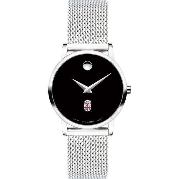 Brown University Women's Movado Museum with Mesh Bracelet - Image 2