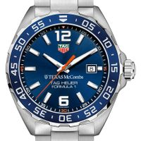 Texas McCombs Men's TAG Heuer Formula 1 with Blue Dial & Bezel
