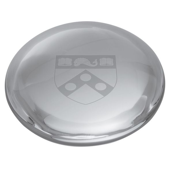Penn Glass Dome Paperweight by Simon Pearce - Image 2