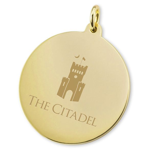 Citadel 14K Gold Charm - Image 2