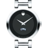 Christopher Newport University Women's Movado Museum with Steel Bracelet