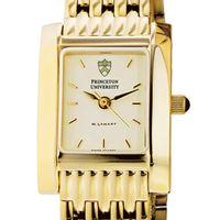 Princeton Women's Gold Quad Watch with Bracelet