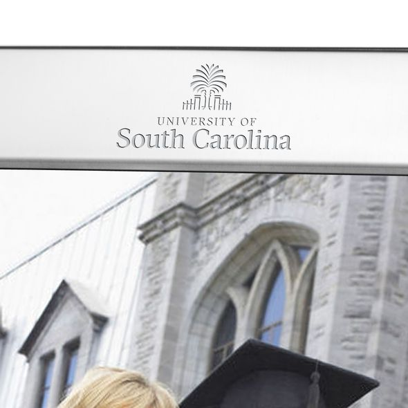 South Carolina Polished Pewter 8x10 Picture Frame - Image 2