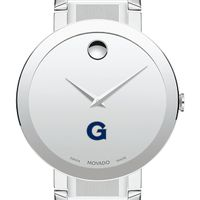 Georgetown University Men's Movado Sapphire Museum with Bracelet