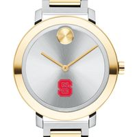 North Carolina State Women's Movado Two-Tone Bold 34