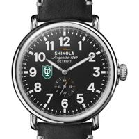 Tulane Shinola Watch, The Runwell 47mm Black Dial