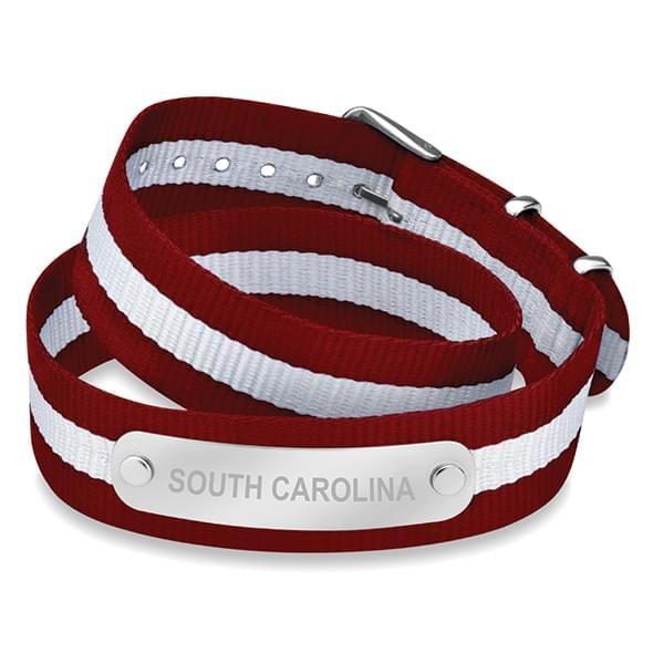 University of South Carolina Double Wrap NATO ID Bracelet
