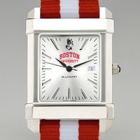 Boston University Collegiate Watch with NATO Strap for Men