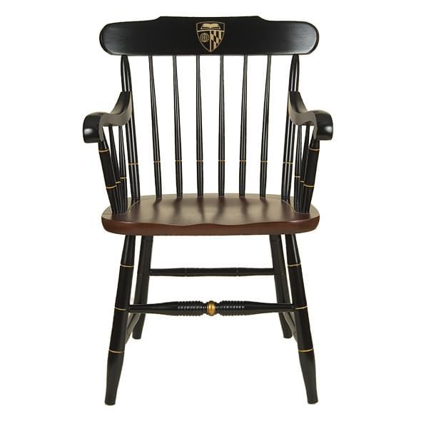 Johns Hopkins University Captain's Chair by Hitchcock