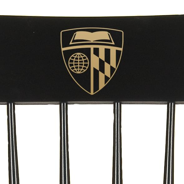 Johns Hopkins University Captain's Chair by Hitchcock - Image 2