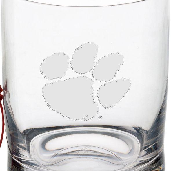 Clemson Tumbler Glasses - Set of 4 - Image 3