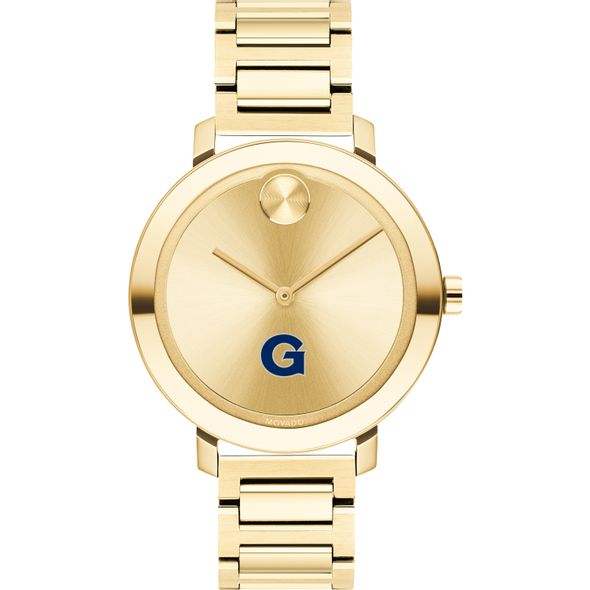 Georgetown University Women's Movado Gold Bold 34 - Image 2