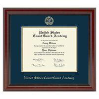 US Coast Guard Academy Diploma Frame, the Fidelitas