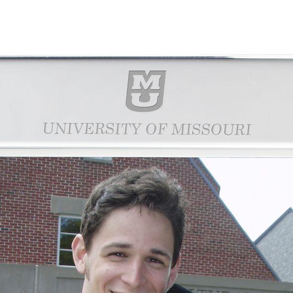 University of Missouri Polished Pewter 5x7 Picture Frame - Image 2