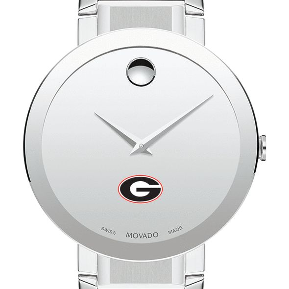 University of Georgia Men's Movado Sapphire Museum with Bracelet