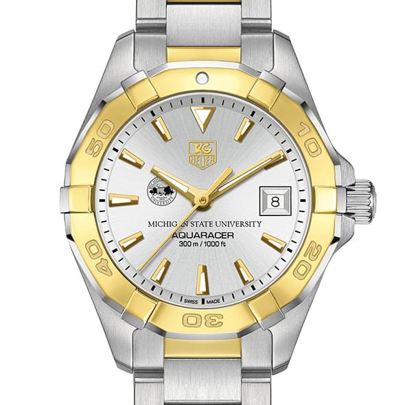 Michigan State Women's TAG Heuer Two-Tone Aquaracer - Image 1