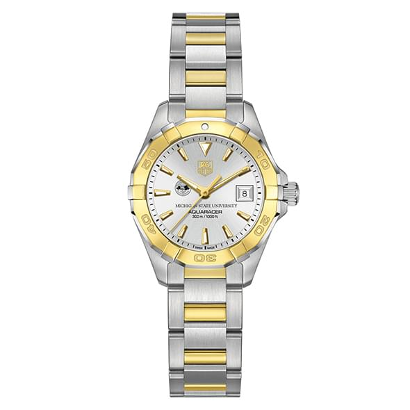 Michigan State Women's TAG Heuer Two-Tone Aquaracer - Image 2