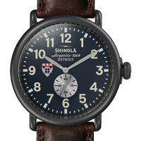 HBS Shinola Watch, The Runwell 47mm Midnight Blue Dial