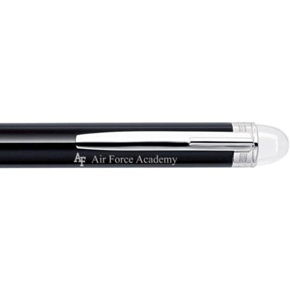 US Air Force Academy Montblanc StarWalker Ballpoint Pen in Platinum - Image 2