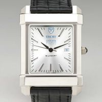Emory Goizueta Men's Collegiate Watch with Leather Strap