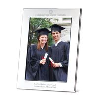 UNC Polished Pewter 5x7 Picture Frame
