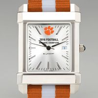 Clemson Men's Collegiate Watch w/ NATO Strap- Championship Edition