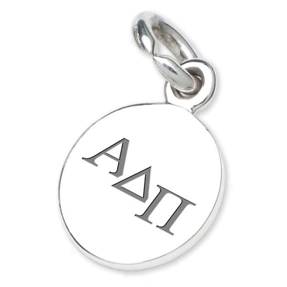 Alpha Delta Pi Sterling Silver Charm - Image 2