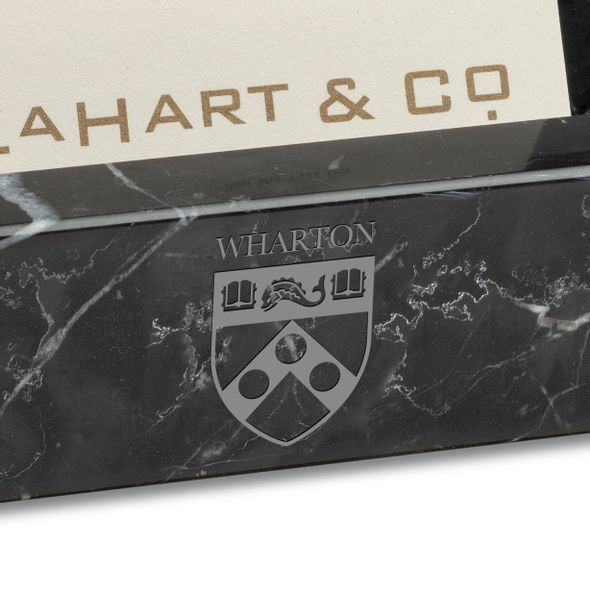 Wharton Marble Business Card Holder - Image 2