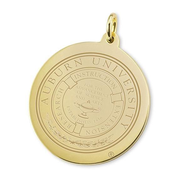 Auburn 14K Gold Charm