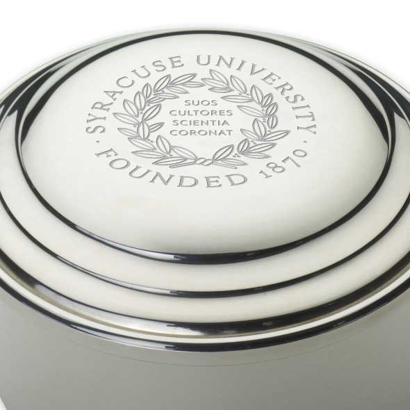 Syracuse University Pewter Keepsake Box - Image 2