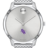Stephen F. Austin State University Women's Movado Stainless Bold 35