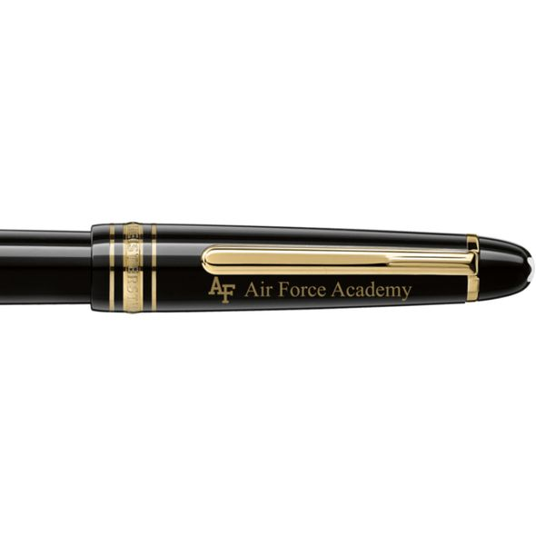 US Air Force Academy Montblanc Meisterstück Classique Fountain Pen in Gold - Image 2