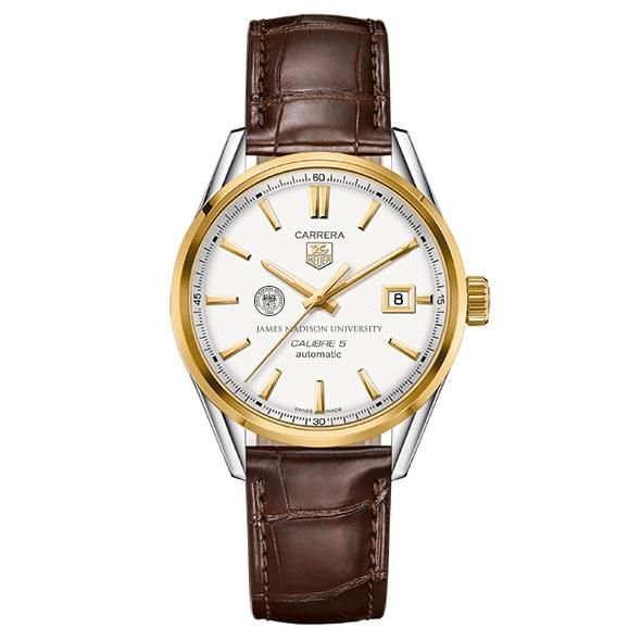 James Madison Men's TAG Heuer Two-Tone Carrera with Strap - Image 2