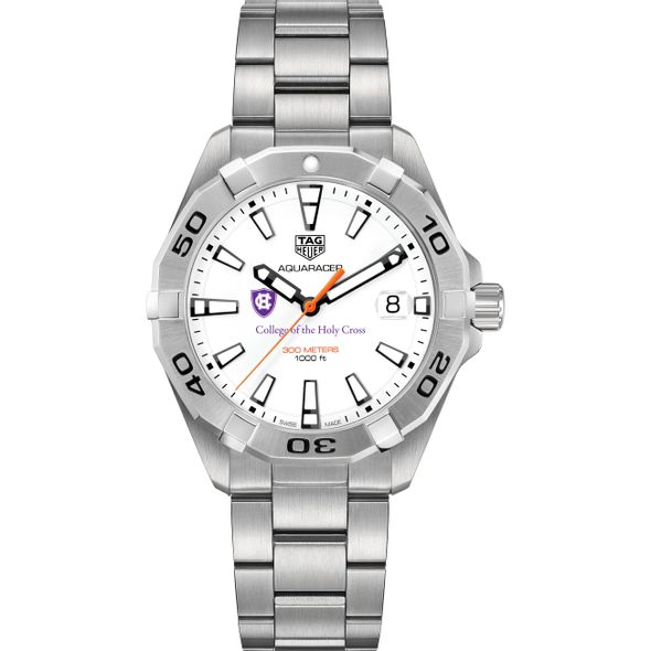 Holy Cross Men's TAG Heuer Steel Aquaracer - Image 2