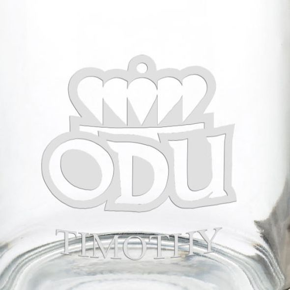 Old Dominion University 13 oz Glass Coffee Mug - Image 3