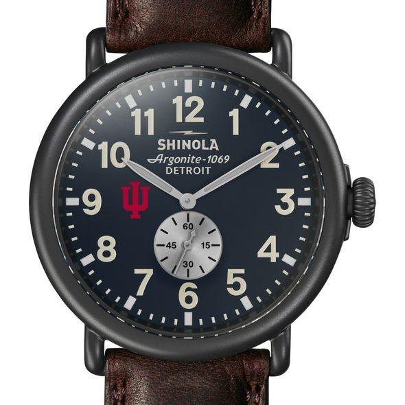 Indiana Shinola Watch, The Runwell 47mm Midnight Blue Dial - Image 1
