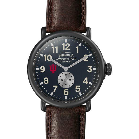 Indiana Shinola Watch, The Runwell 47mm Midnight Blue Dial - Image 2
