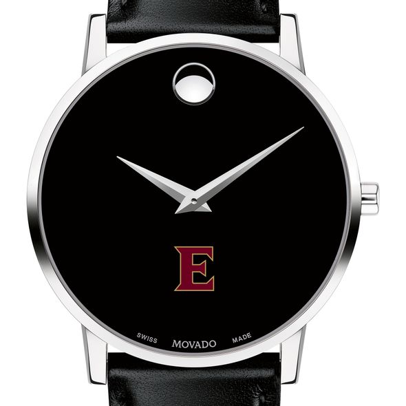 Elon Men's Movado Museum with Leather Strap